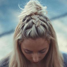 4th of July Braids | StyleCaster