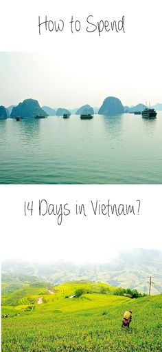 Vietnam is a great #travel destination for couples as well as for solo women travellers. It is safe, beautiful and most of the time a bit loud :P. A few years ago, I went on a solo trip to Bangkok, Vietnam, Singapore and Kuala Lumpur and I have found the 2 weeks I've spent back then in Vietnam were the right amount of time. Here is now an idea how to spend 14 days in #Vietnam.