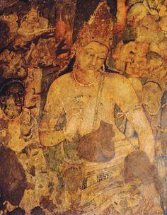 Bodhisattva Padmapani India V-VI century