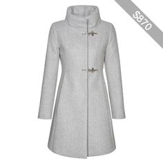 Fay - Romantic Coat in Wool