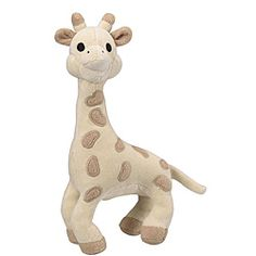 @Overstock.com - Vulli Sophie the Giraffe SoPure Plush - This soft Sophie the giraffe is sure to keep baby company all through the day. This soft toy has a very soft velvet that is pleasant to cuddle with a tinkling bell. This giraffe is made from 100-percent organic cotton with a maize fiber filling.  http://www.overstock.com/Baby/Vulli-Sophie-the-Giraffe-SoPure-Plush/5795061/product.html?CID=214117 CAD              70.91