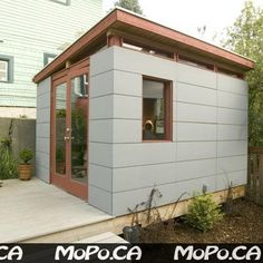 Garage build - Modern, Shed Roof, Rain Screen Siding - The Garage Journal Board