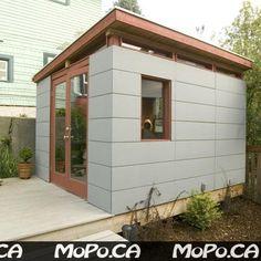 Garage build - Moder