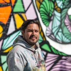 Daniel Anguilu || He is also known, as WEAH is one of the hardest working and sought out graffiti artist in Houston.