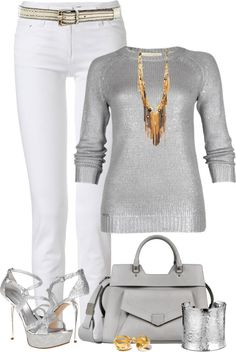 """""""Mixing Metals"""" by johnna-cameron on Polyvore"""