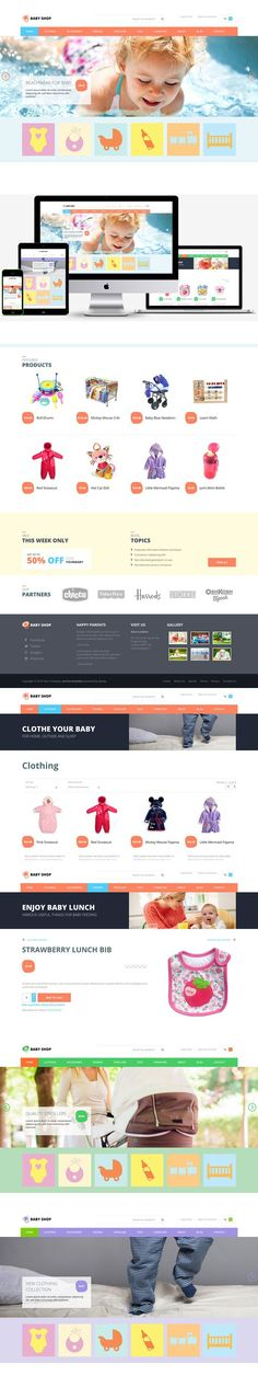 Hot Baby Shop. Joomla Themes. $39.00