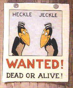 Heckle and Jeckle (Faísca e Fumaça) / 1946 / Terrytoons #cartoons