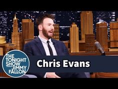 The Tonight Show Starring Jimmy Fallon: Chris Evans' Rescue Dog Loves to Sit on His Niece