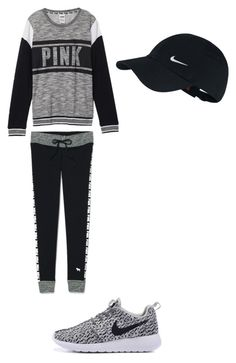 """Athletic"" by explorer-14571193261 on Polyvore featuring Victoria's Secret and NIKE"