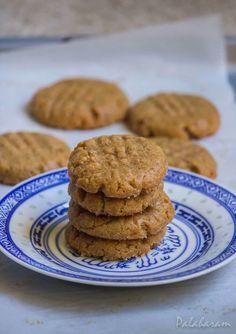 Culinary blog Cookies Ingredients, 3 Ingredients, 3 Ingredient Cookies, Indian Food Recipes, Vegan Recipes, Shaped Cookie, Cooking With Kids, Peanut Butter Cookies, Something Sweet