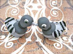 """Edible Details - fondant """"Pigeons"""""""