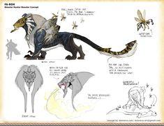 ArtStation - Monster Hunter Monster: Fa-Roh, Donna Vu