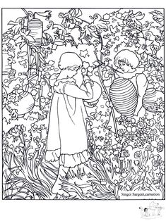 free coloring page coloring adult john singer sargent carnation free adult coloring pagesfree printable coloring