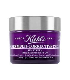Super Multi-Corrective Cream SPF 30 Anti-Aging Cream by Kiehl's. Anti-Aging Moisturizer with SPF lifts, smooths, and sculpts while protecting skin from the sun. Anti Aging Facial, Best Anti Aging, Anti Aging Skin Care, Creme Anti Age, Anti Aging Cream, Anti Aging Moisturizer, Homemade Moisturizer, Facial Cream, Homemade Skin Care