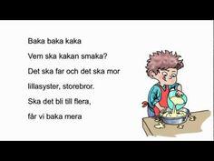 """Baka baka kaka - ur """"Små Rim&Ramsor"""" - YouTube"""