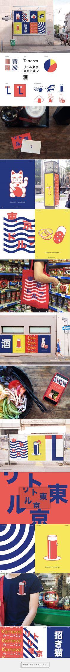 Identity for Düsseldorf's Japanese quarter on Behance - created via https://pinthemall.net
