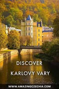 Karlovy Vary (a. Carlsbad) is a town in the west of Czechia. It is very a famous spa resort, visited by many celebrities from all over the world. Beautiful Places To Travel, Cool Places To Visit, Exotic Places, Central Europe, Travel Goals, Watercolor Landscape, Eastern Europe, Resort Spa, National Parks
