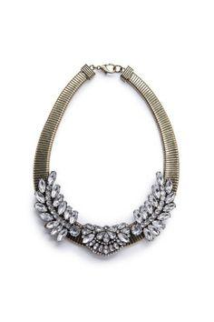 Mango Necklace #statement #necklaces #fashion #moda #MODAnS