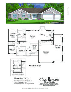 Best R 1713B New House Plans House Layouts Dream House Plans 400 x 300