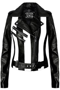Beatlejuice Leather Jacket [VEGAN]