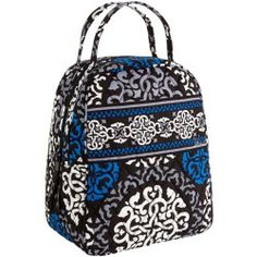 Vera Bradley Lunch Bunch in Canterberry Cobalt - products - Fashion Review Product