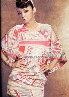 Namie Amuro / Magazines / 2008 / Gisele (May) Gisele, Asian Beauty, Cool Girl, Sari, Kawaii, Singer, Photograph, Magazines, Culture