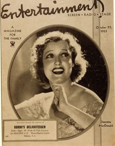 Jeanette MacDonald - 1933. ARM Collection