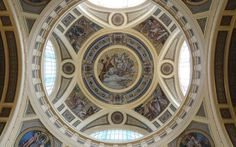 Széchenyi fürdő kupolája,Budapest
