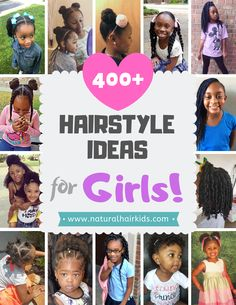 159 Best Elementary School Natural Hairstyles for kids images ...