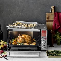 Breville Smart Oven Air with Super Convection Air Recipe, Convection Oven Recipes, Keep Food Warm, Chicken Parmesan Recipes, Fries In The Oven, Air Fryer Recipes, Ovens, Baking Pans, Meals For One