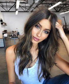 Hairdressing Advice That Will Keep Your Hair Looking Great – Hair Wonders Hair Inspo, Hair Inspiration, New Hair, Your Hair, Belleza Natural, Great Hair, Dark Hair, Brown Hair, Brown Eyes