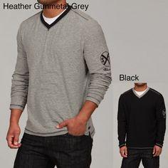 Seven7 Men's Banded V-neck Shirt