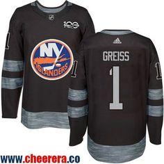 8512430a5 Men s New York Islanders Denis Potvin Black Anniversary Stitched NHL 2017  adidas Hockey Jersey