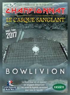 Blood Bowl 2 Championnat Le Casque Sanglant saison 4 par la LFBB