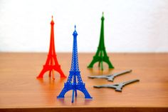 Flat Pack Eiffel Tower by Physics_Dude.