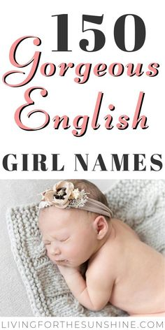 Old Fashioned English Girls Names Are you looking for a beautiful vintage name for your new baby girl? This list of old fashioned English girls names will help you find the perfect name for your daughter! English Baby Girl Names, Irish Girl Names, English Girls, Old Irish Names, Baby Trivia, Classic Girls Names, Unique Girl Names, British Names For Girls, Amazing Girl Names
