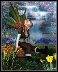 Beautiful Sexy Fairy Art | Beautiful Fairies