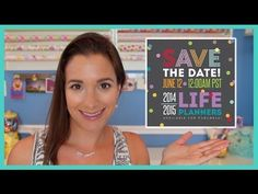 Erin Condren 2014-15 Life Planner Launch & Giveaway