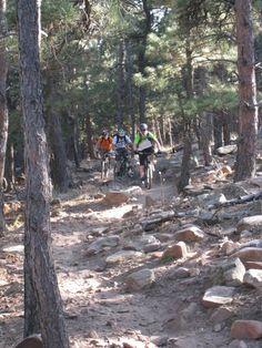 Mountain biking in Boulder, Colorado