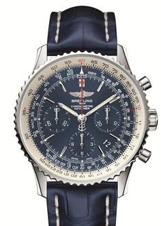 Breitling's New Navitimer Blue Sky is not only an appealing aviation timepiece but it is also a 60 year limited edition anniversary watch. There will only be 500 timepieces made for this special edition watch.