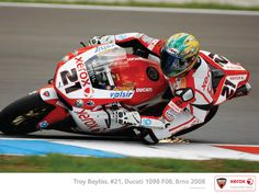 This is how it's done. Troy Bayliss.