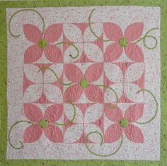 """Petal Pushers"" from Home Sweet Quilt"