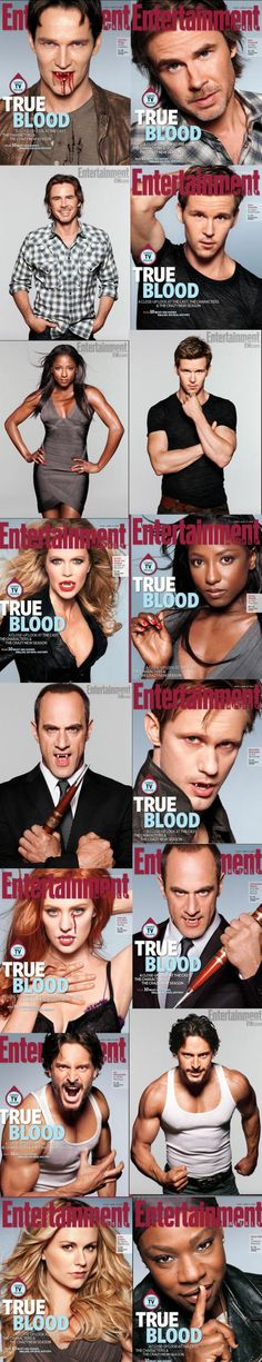 True Blood Cover Art...I Need ALL of These!!!