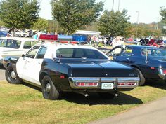 1973 Dodge Coronet police car