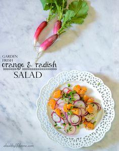 Orange and Radish Salad   ahealthylifeforme.com