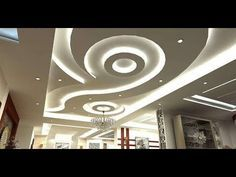 Top 150 POP false ceiling designs for living room & bedroom 2018 catalogue. Home Living Room Ideas. Change Your Living Room Decor On A Limited Budget In Six Steps Gypsum Ceiling Design, Pop False Ceiling Design, Ceiling Design Living Room, False Ceiling Living Room, Bedroom Ceiling, Ceiling Decor, Ceiling Beams, Living Room Designs, Ceiling Lights