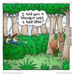 deer hunting cartoon - Google Search