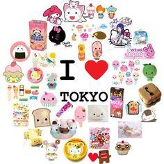 Tokyo, Japan. Everything is 'Kawaii' - Cute. S)