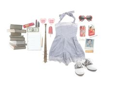 """nymphet"" by naughty-nymphets ❤ liked on Polyvore featuring Pinup Couture, Barlow, Bite, cute, innocent, nymphet, lolita1997 and nymphetfashion"