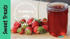 Super Simple Strawberry Jelly & Vanilla Biscuits Completely yummy and something that the kids can join in on. Strawberry Jelly, Raspberry, Vanilla Biscuits, Super Simple, Sweet Treats, Join, Tasty, Canning, Fruit